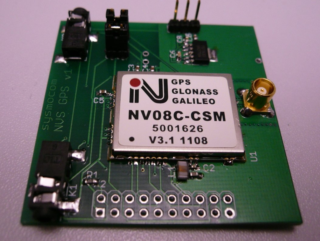 picture of the populated PCB