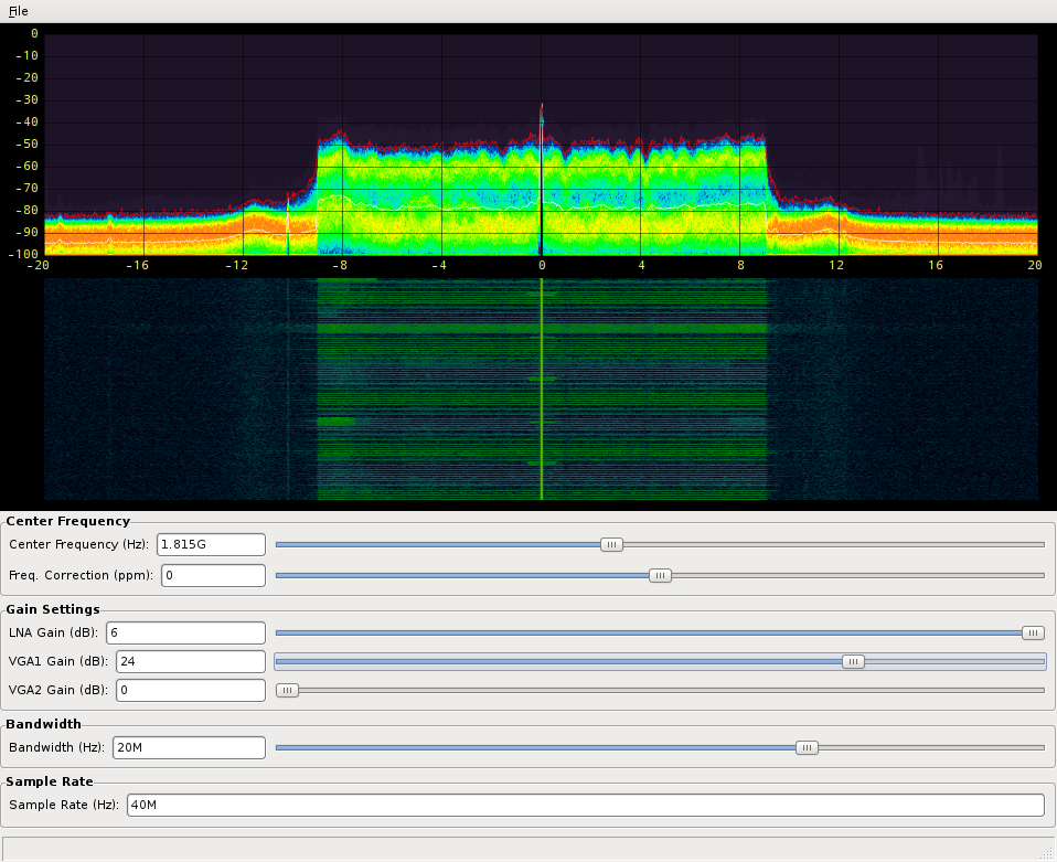 Fosphor - SDR (Software Defined Radio) - Open Source Mobile