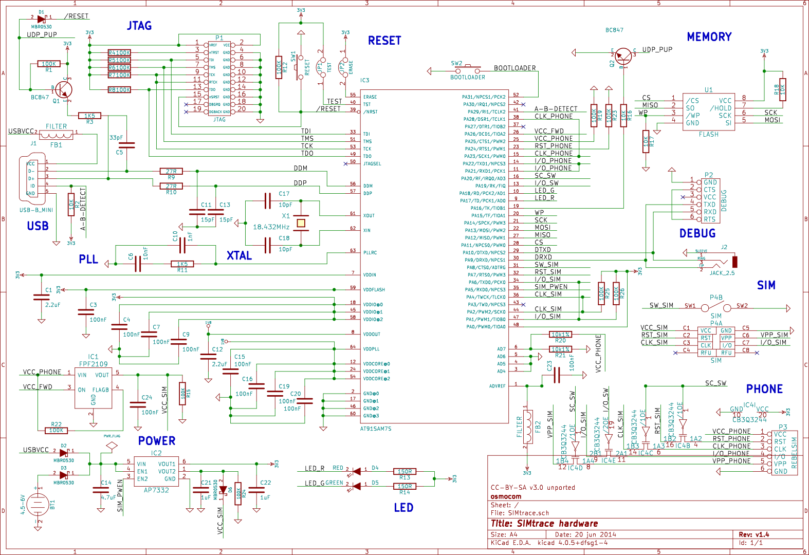 Simtrace Hardware Open Source Mobile Communications Ve Also Been Looking For The Schematics And Gerber Files But They V14 Schematic View