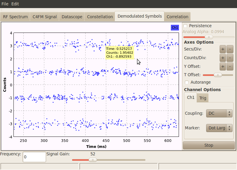 SignalScopePage - OP25 - Open Source Mobile Communications