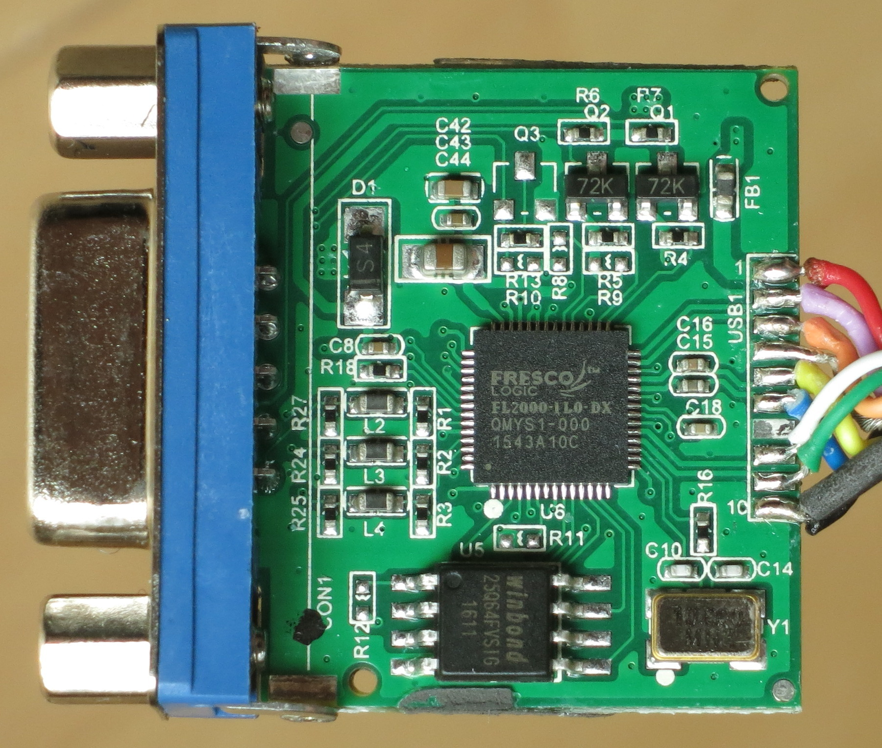 Fresco Logic xHCI USB 3.0 Controller FL1009 Treiber Windows XP